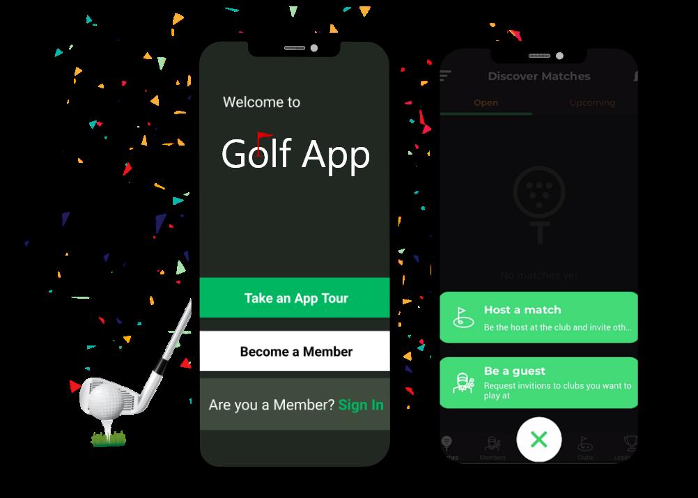 golf app case study front